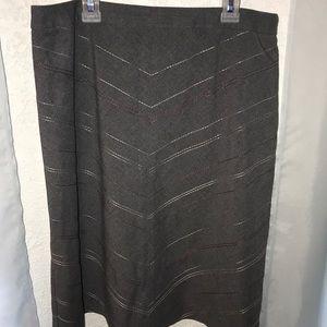 Ann Taylor grey skirt